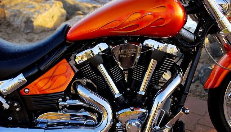 Verniciatura e lucidatura moto